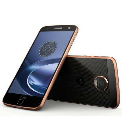 Moto Z 4G front and rear view