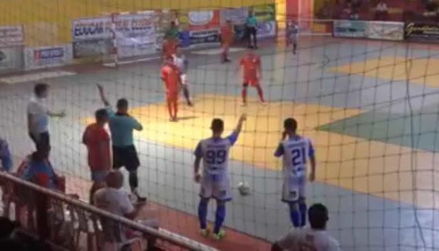Pelo 'Nordestão de Futsal' Horizonte goleia a equipe sergipana do Educar.