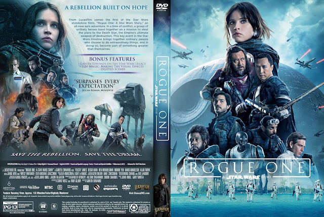 Rogue One A Star Wars Story DVD Cover
