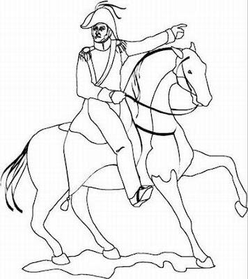 Dibujos de San Martín para pintar