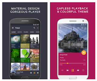 Pemutar Musik Android - Pulsar Music Player