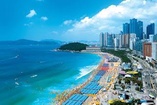 Pantai Haeundae - Tour Ke Korea