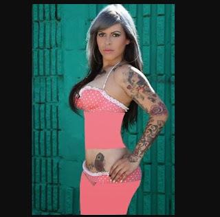Ashlie Lolie tattoo