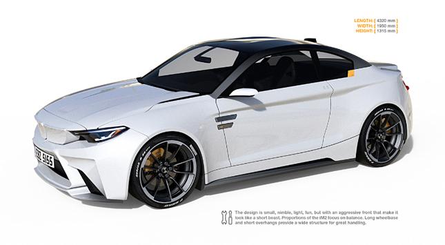 BMW iM2 Electric Concept EV Future