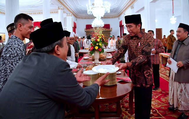 Tanpa FPI, 17 Ormas Islam Diundang Presiden Jokowi