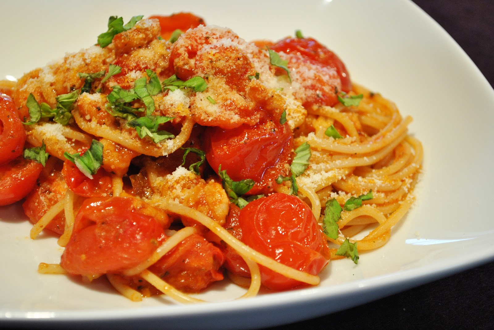 spaghetti mit garnelen und basilikum rezepte suchen. Black Bedroom Furniture Sets. Home Design Ideas
