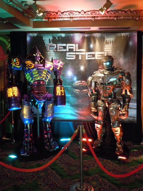 Real Steel robot exhibit