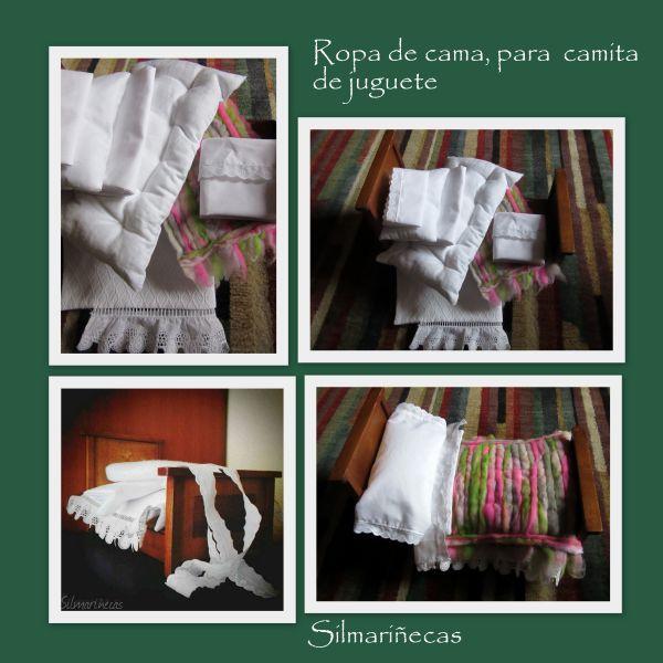 sábanas para camita de juguete de la feria desembalaje