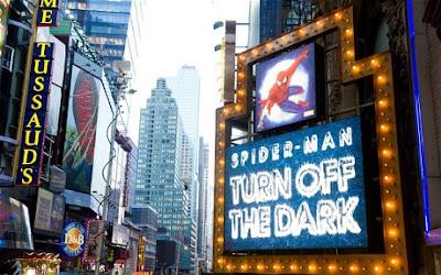 musical de Spiderman en Broadway