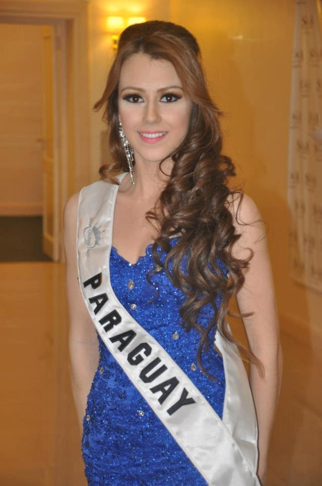 Adelita Ortigoza en el Miss Global Teen 2012