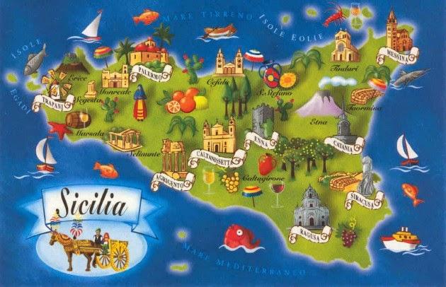 Cartina Tematica Sicilia.Viaggi Per Il Mondo Di Marco Pistolozzi Con Video Foto E Notizie Viaggio In Sicilia