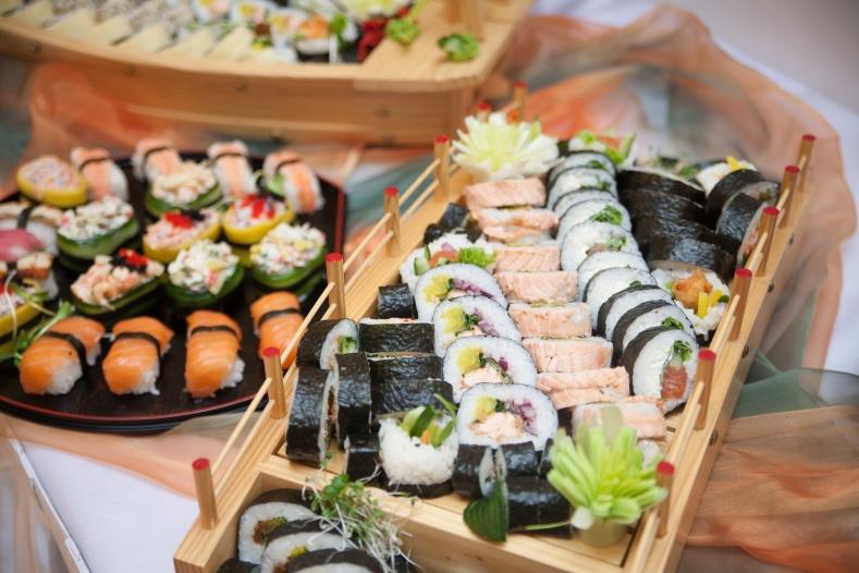 Super Atrakcje weselne: stół sushi. | TP79