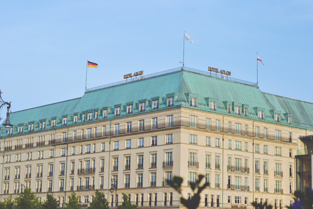 Hotel at Brandenburg Gate