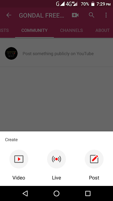 How To Get Community Tab On Your YouTube Channel - THE GONDAL