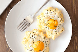 Eggs in clouds, two ways