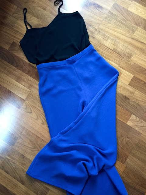 Diary of a Chain Stitcher: Blue Crepe Holly Palazzo Pants