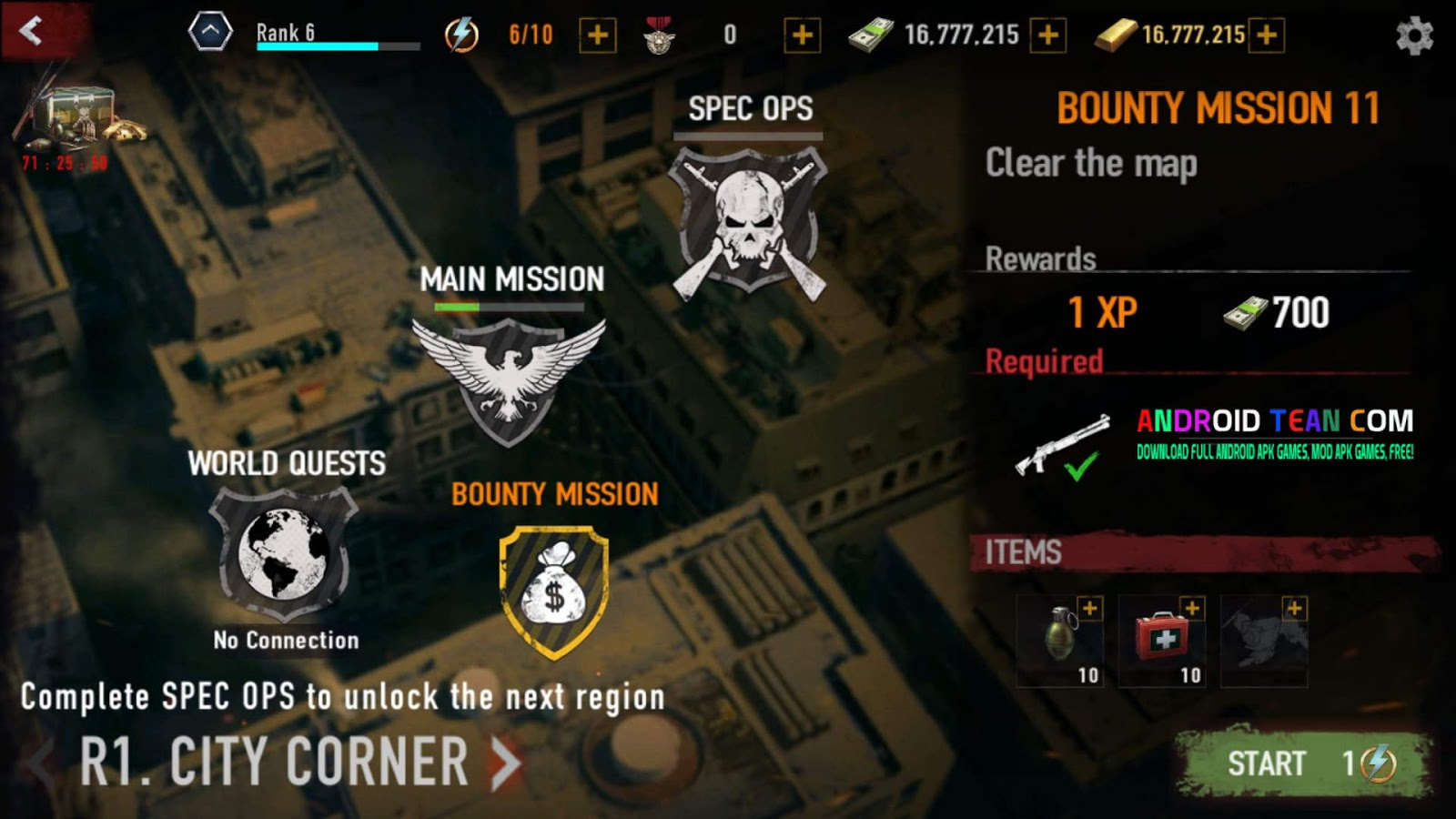 mad zombies free sniper game mod apk