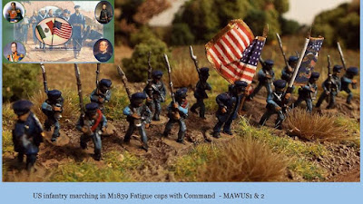 MAWUS1 US Infantry Marching & MAWUS2 US Foot Command picture 1