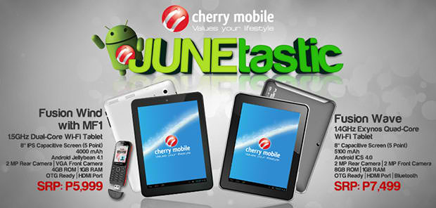 Cherry Mobile Fusion Wave tablet (Price and Key Features)
