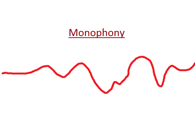 The Word Monophony Breaks Down To Mean Literally One Sound In Monophonic Texture There Is Only Melody Present All Singerusicians Play
