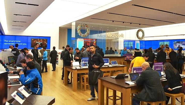 Lojas Microsoft Store em Miami e Orlando