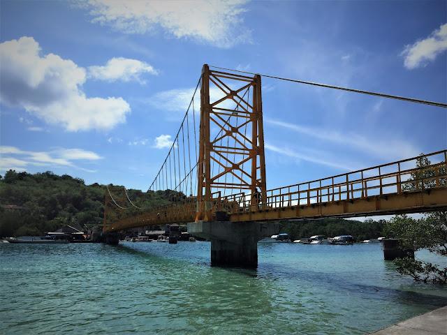 Yellowbridge zwischen Nusa Lembongan und Nusa Ceningan