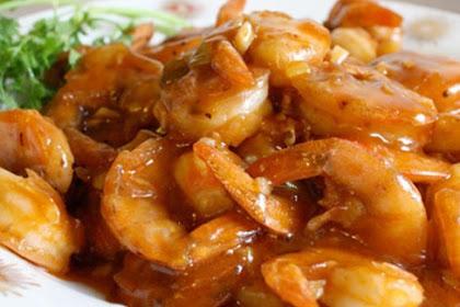 Resep Masakan Udang Goreng Saus Mentega