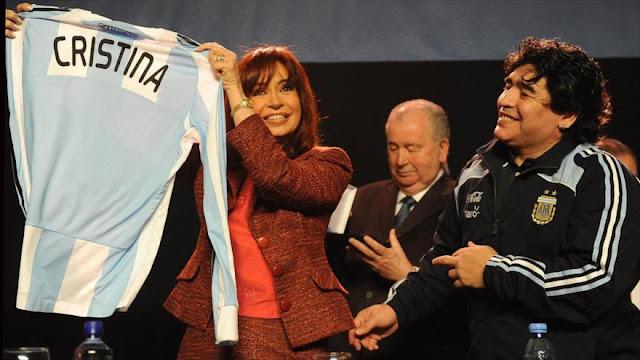 Maradona critica a Macri y pide unidad de peronismo en su contra
