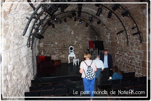 Petite salle Descente aux enfers Théâtre  Nesle Paris