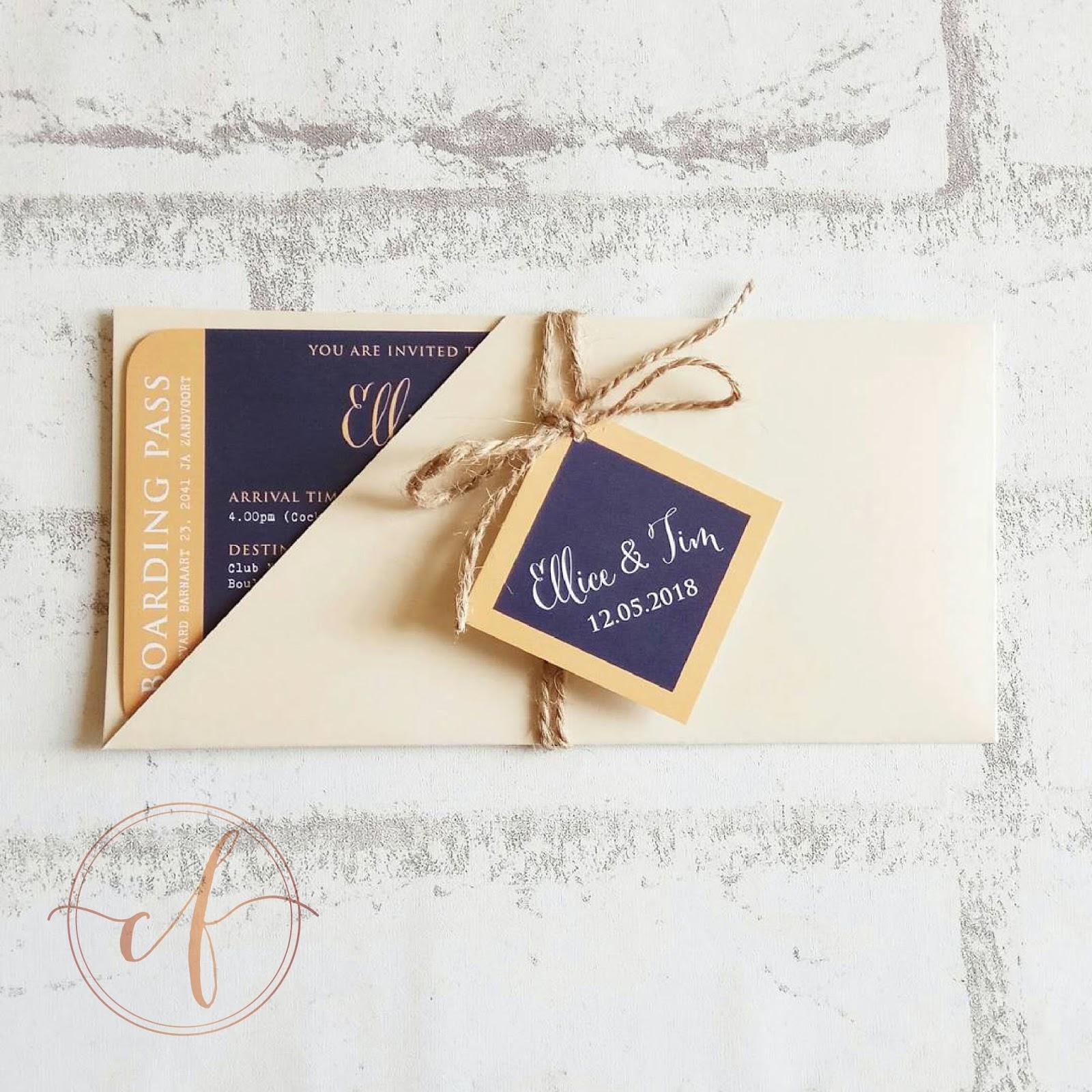 Wedding Card Malaysia | Crafty Farms Handmade : Dutch and Orange ...