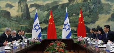 Israel e China ampliam parceria comercial com visita de Bibi