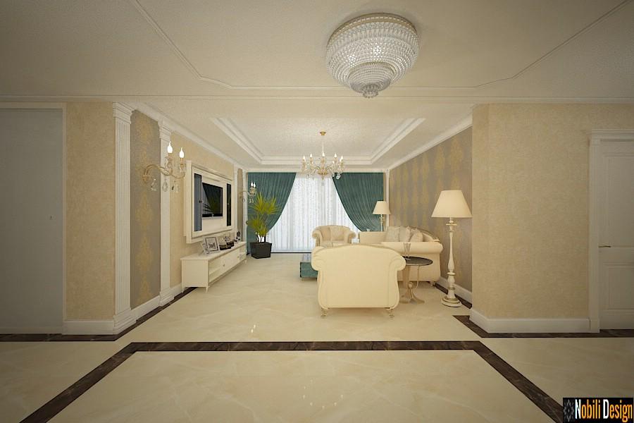 Amenajare interioara casa stil clasic de lux in Constanta.