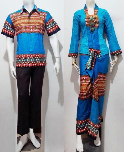 Jilbab Untuk Baju Batik: 25+ Contoh Model Baju Batik Kombinasi 2 Motif 2018