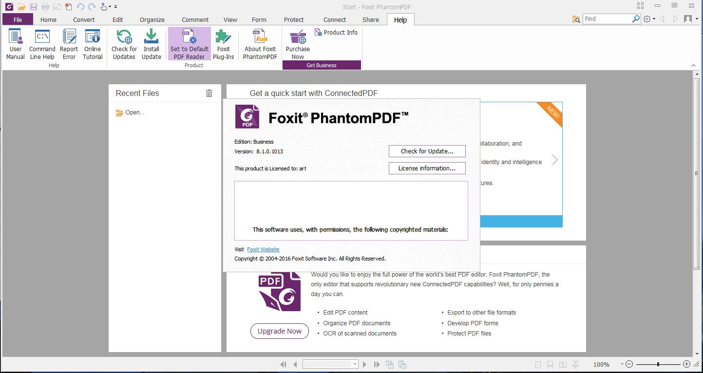 foxit phantompdf serial