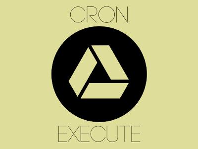 Mengaplikasikan Cron Job Langsung di Google Drive