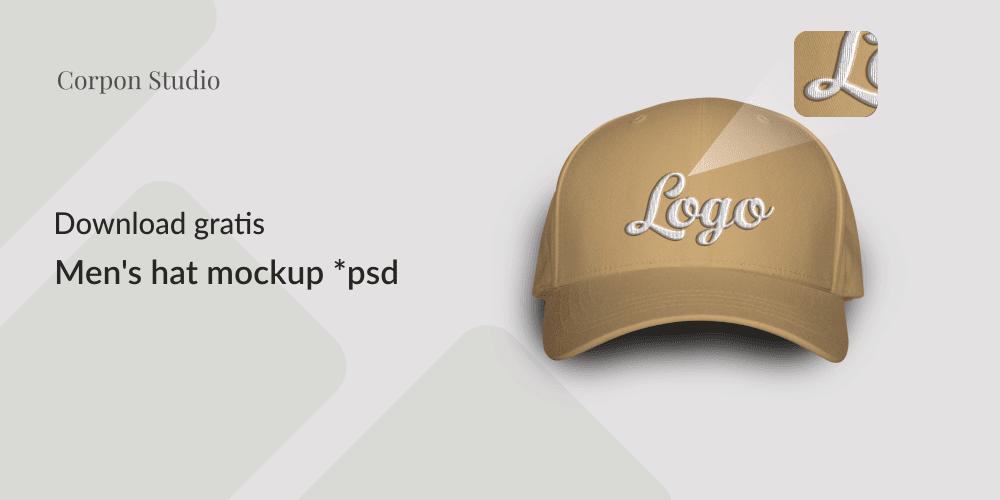 Download Mockup Topi/Hat Mockup PSD Gratis