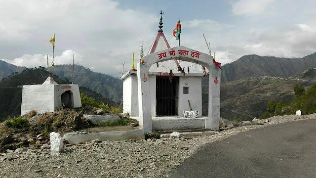 jai ma hansa devi, tehri garhwal temple