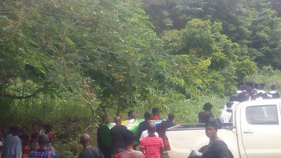 (PHOTOS)Total shock as man is buried in a 'Star beer bottle' in Ghana