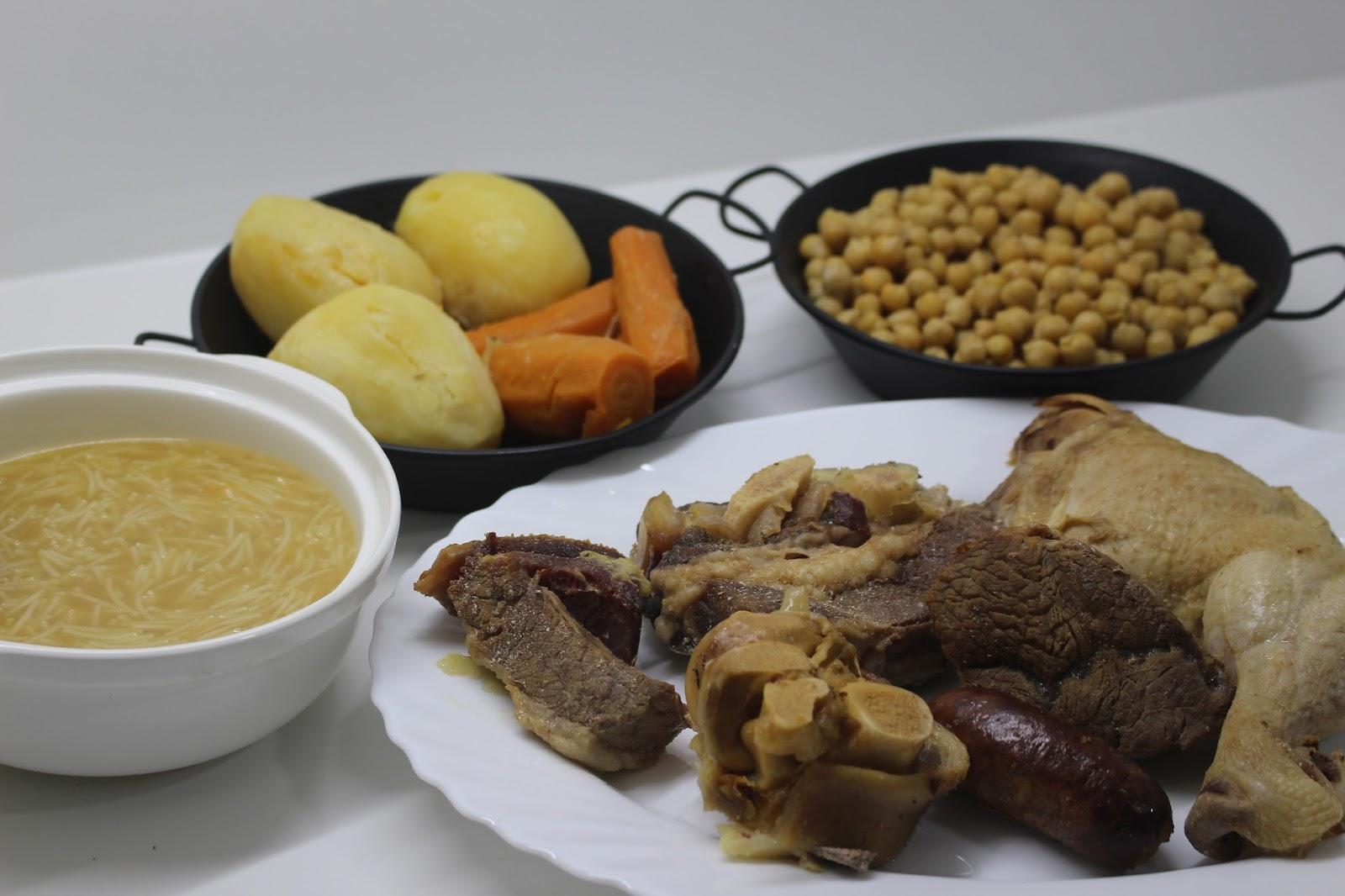Cocido madrile o en olla express la cocina del sur - Cocido en la olla express ...