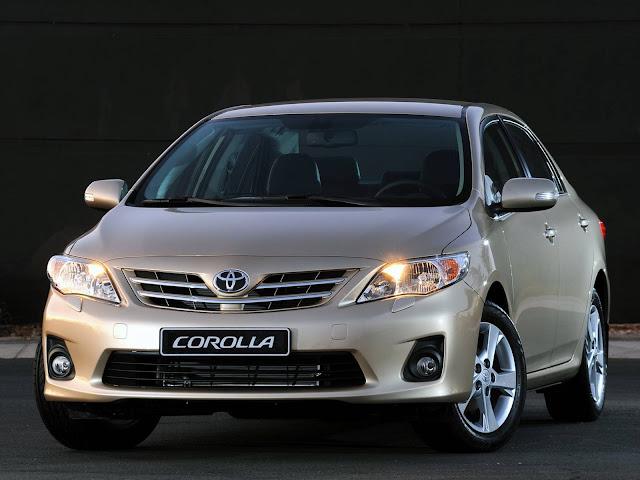 Toyota Corolla 2007 a 2009