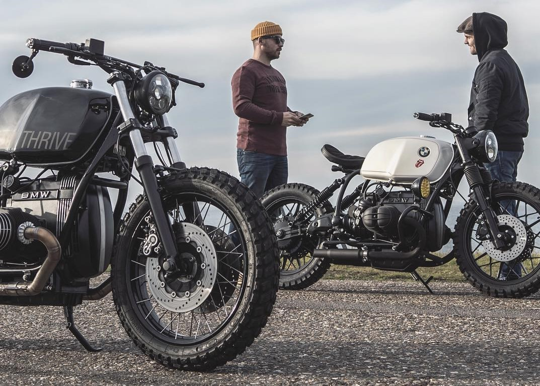 Ironwood Custom's 'The Interpreter' BMW R100R Scrambler - The Smokey