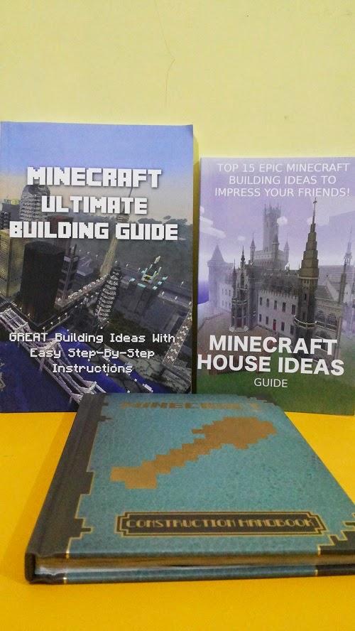 Kejutan Buku Minecraft Untuk Aa