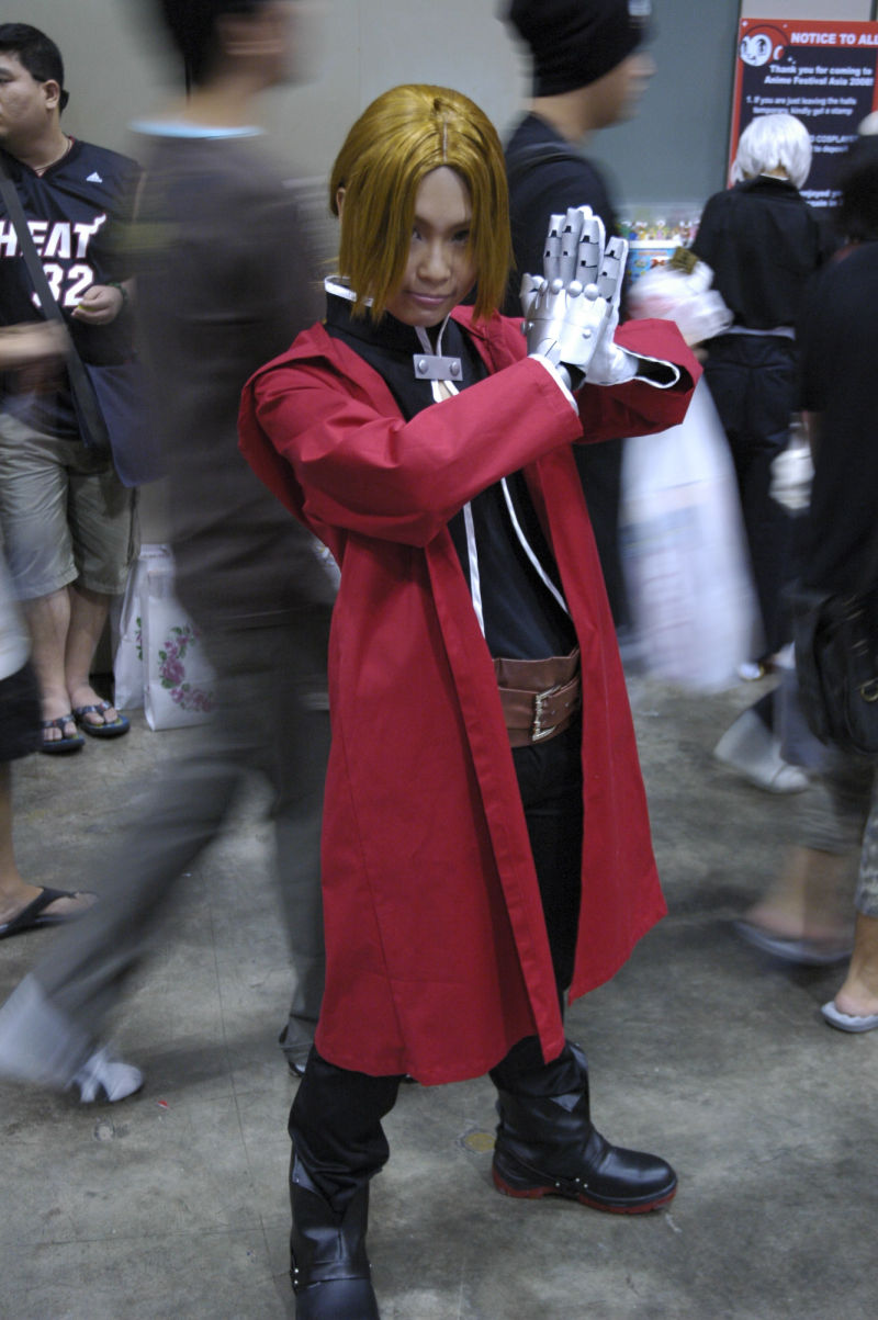 noiserbox Edward Elric cosplay