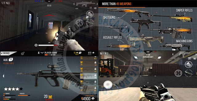 Modern Strike Apk Data Obb mod premium Account v1.16 Terbaru