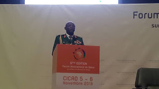 GENERAL ABAYOMI CALLS FOR INTERNATIONAL ORGANIZATIONS TO STOP TERRORISM