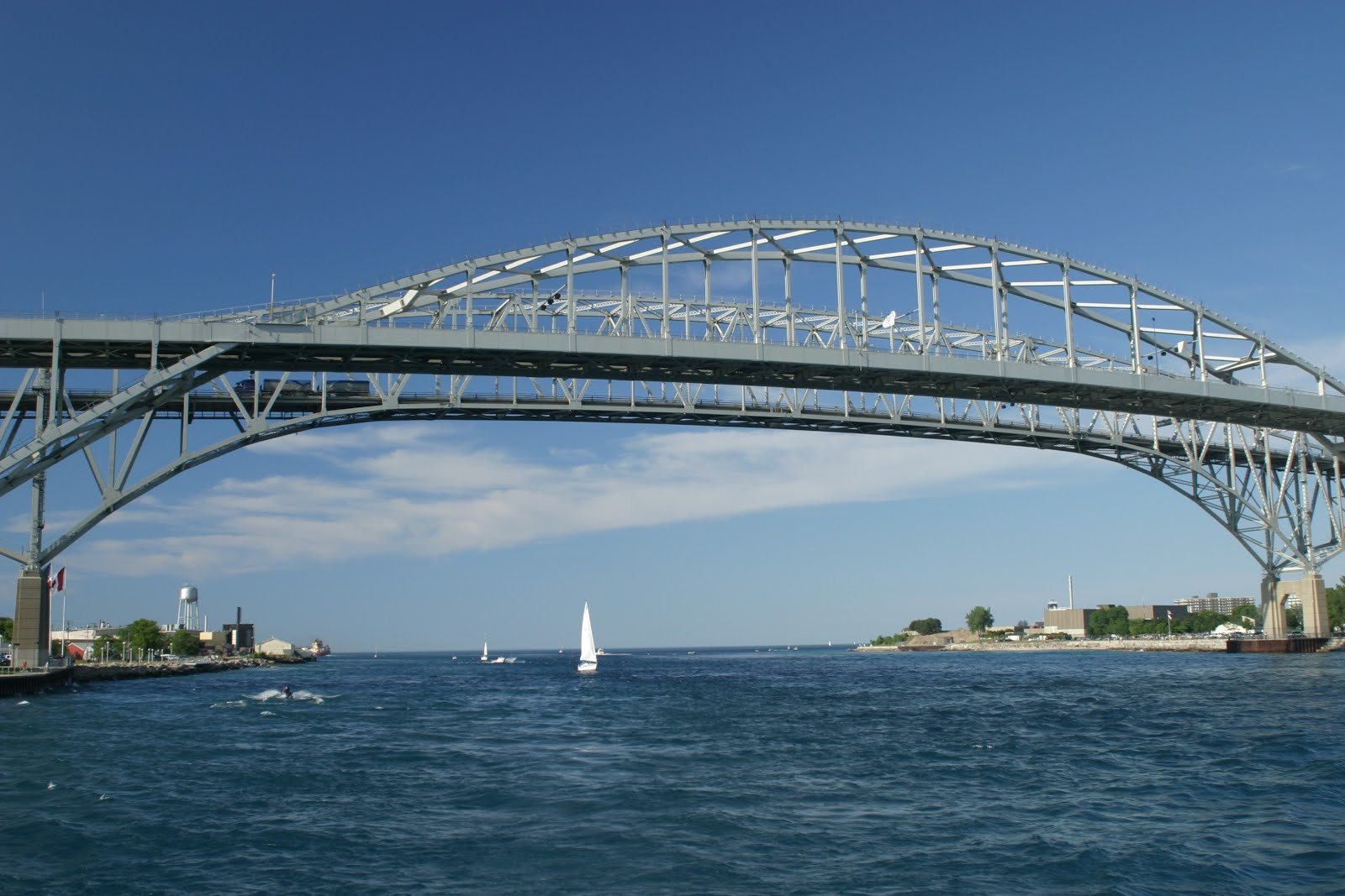 The Bluewater Bridge