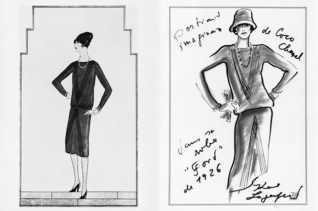 Chanel mała czarna, Chanel sukienka