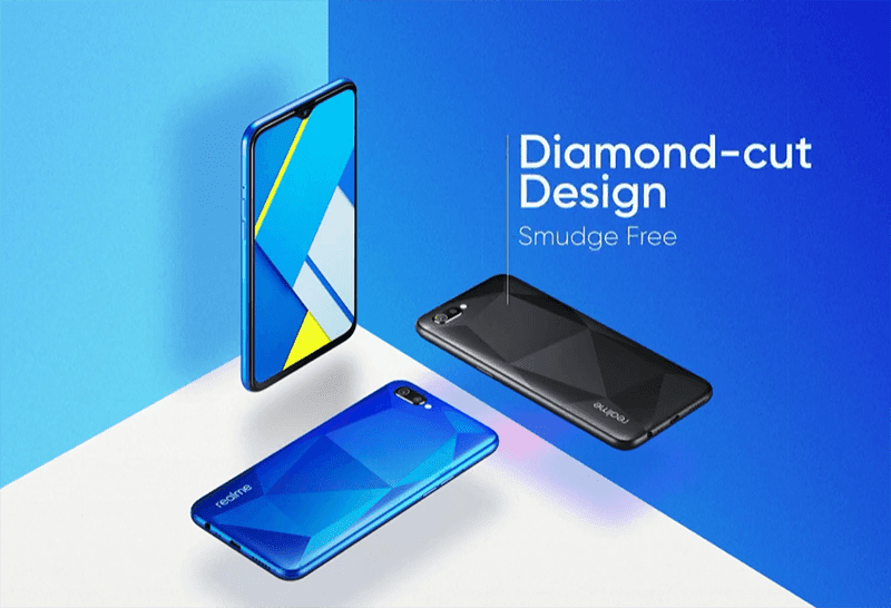 Realme C2 with Helio P22 and Diamond-cut design now official!