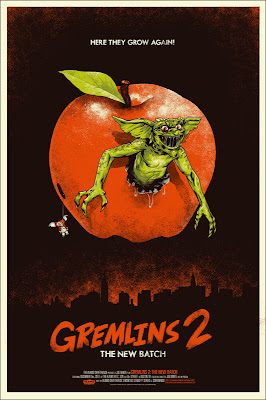 Gremlins 2 Screen Print by Phantom City Creative