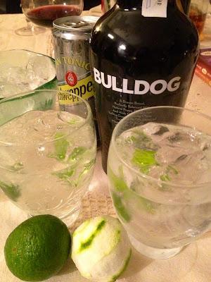 Gin-Tonic - el gastrónomo - Bulldog - el troblogdita - ÁlvaroGP